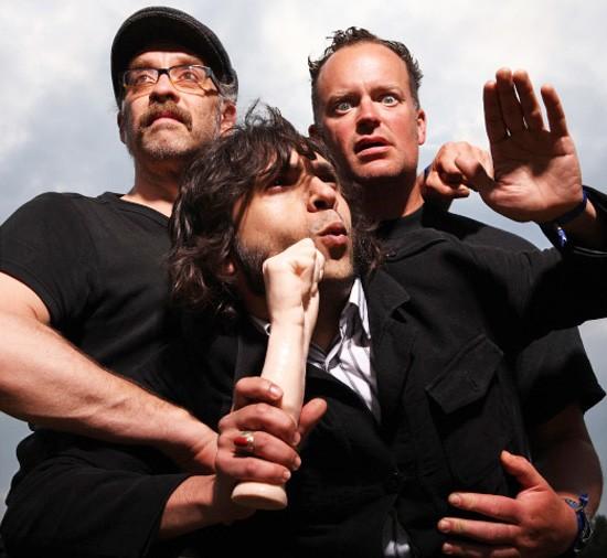 German noise-rock trio Nicoffeine descends on Lemp Arts Center October 12. - CHRISTIAN WAGNER