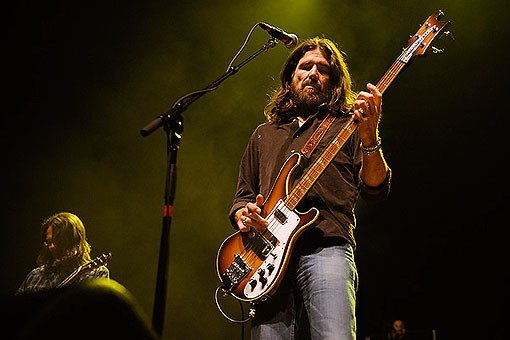 The Black Crowes last night at the Pageant. See more photos from last night's show. - PHOTO: TODD OWYOUNG