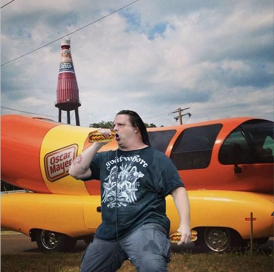 """George """"Hotdoggrinder"""" Fisher - LONNIE DAVIS"""