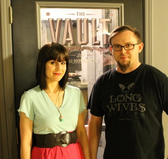 Kerry and Tim Smith outside their music venue the Vault located in Farmington, Missouri - CASSIE KOHLER