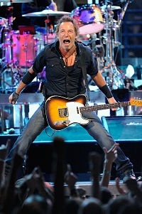 The Boss at the Scottrade Center last August. - TODD OWYOUNG