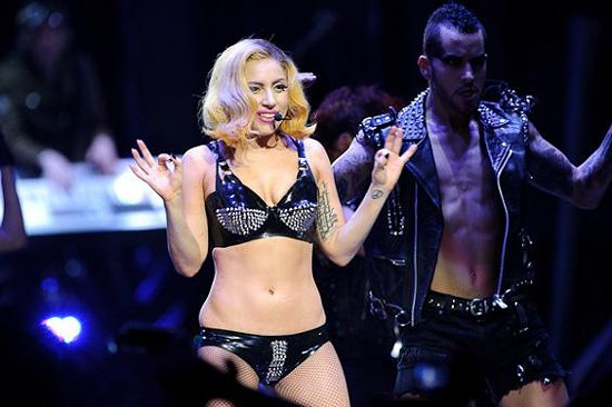 Lady Gaga - Saturday @ Scottrade Center - TODD OWYOUNG