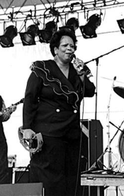 Super Bass: Fontella Bass' biggest hit helped her out of a financial jam in the 1990s. - RFT FILE PHOTO