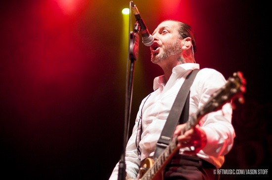 SOCIAL DISTORTION. PHOTO BY JASON STOFF