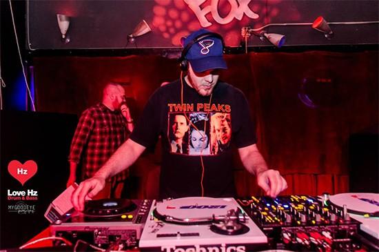 DJ Cryptonix. - COURTESY OF BRIAN BRADLEY