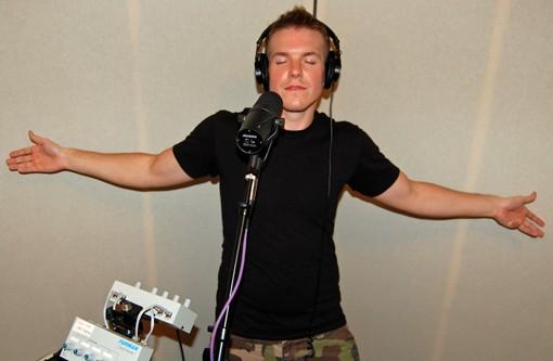 Vocalist Tim Clarkson