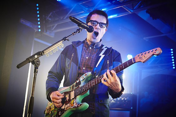 Rivers Cuomo performs with Weezer at Plush. See more photos here. - STEVE TRUESDELL