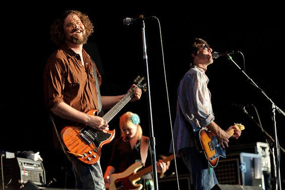 Drive-By Truckers opening for Tom Petty. More photos here. - TODD OWYOUNG