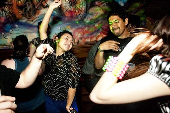 Dancing is not forbidden at HandleBar. - NICHOLAS ZARAGOZA