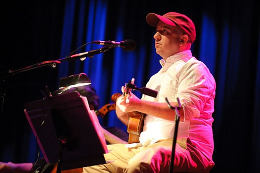 Stephin Merritt of The Magnetic Fields last night at the Pageant. See a full slideshow here. - PHOTO: TODD OWYOUNG