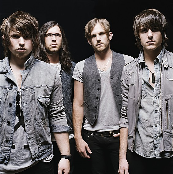 Kings of Leon will show their faces again at Verizon Wireless Amphitheater on September 25.