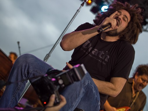 Counting Crows. See more photos here. - PHOTO: STEW SMITH