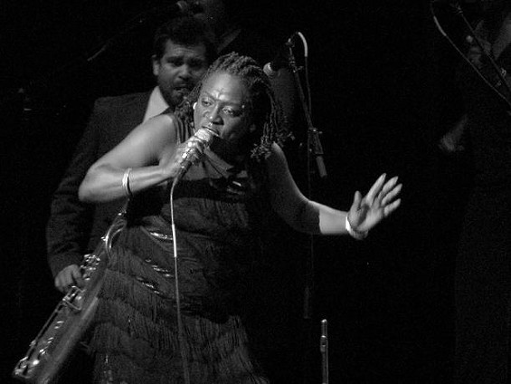 Sharon Jones! - ANNIE ZALESKI