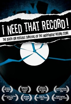 I Need That Record chronicles the events that led up to the demise of many record stores