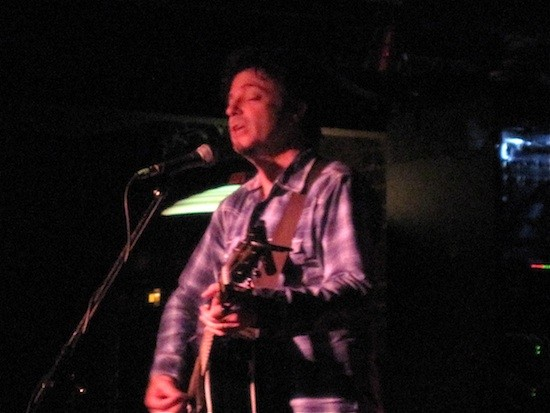 Johnny Hickman opened for David Lowery at Blueberry Hill. - IAN FROEB