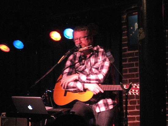 David Lowery at the Duck Room in Blueberry Hill - IAN FROEB