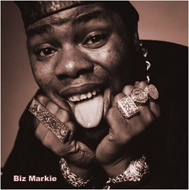 Biz Markie performed at last night's Fresh Fest.