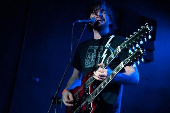 Andrew Elstner, guitarist for Torche and vocalist for the St. Louis-based Tilts, encountered a media frenzy after a bat urinated in his eye at a rustic Wildwood house. - RFT FILE PHOTO