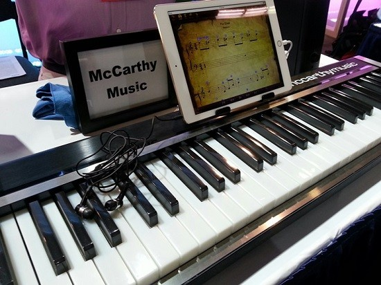 The McCarthy Music Illuminated Piano - L.J. WILLIAMSON