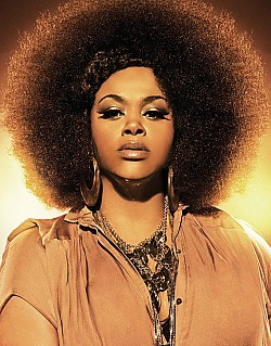 Neo-soul songstress Jill Scott.