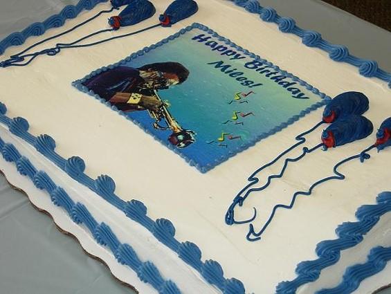 Miles Davis on a cake! - CHRISTIAN SCHAEFFER