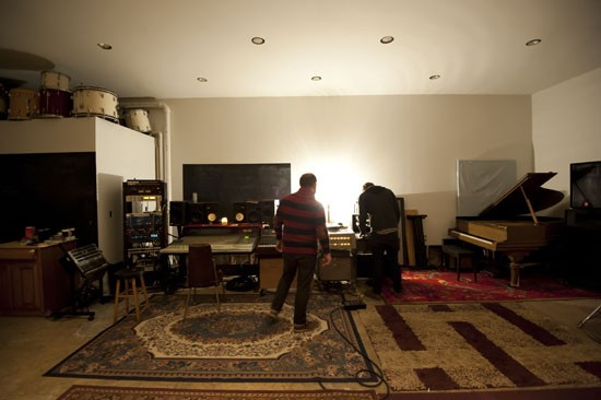 Kit Hamon and David Beeman in Native Sound. - KHOLOOD EID