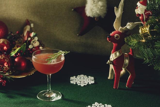 "The ""Christmopolitan"" — coming soon to a bar near you. - MELISSA HOM"