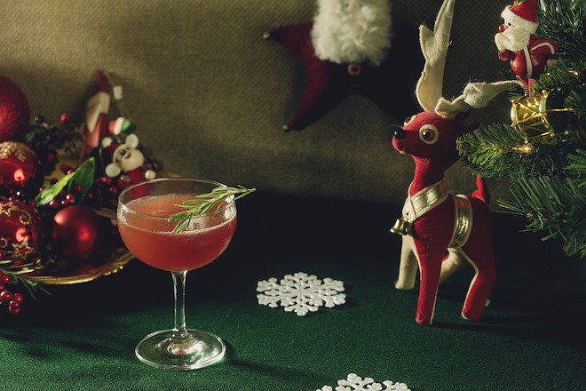 "The ""Christmopolitan"" — coming soon to a bar near you. - MELISSA HOM"