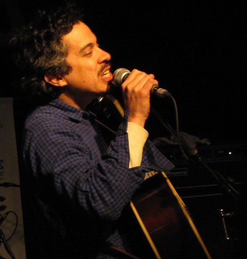 M. Ward at Alex Chilton tribute at SXSW 2010 - DANA PLONKA