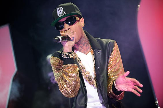 TYGA. PHOTO BY TODD OWYOUNG