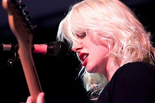 Paige Brubeck of Sleepy Kitty. See a concert slideshow here. - PHOTO: COREY WOODRUFF
