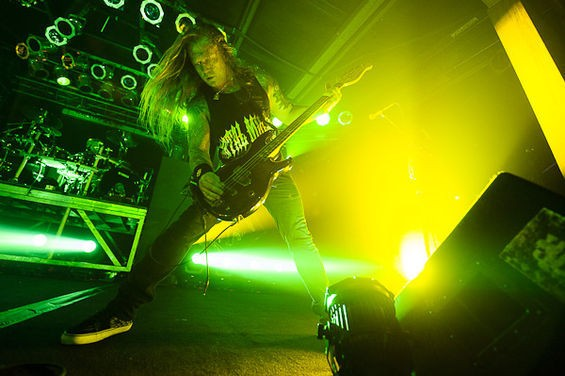 Machine Head at Pop's Nightclub - TODD OWYOUNG