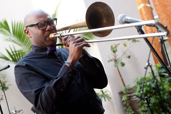 "Lamar Harris performs ""The Shawn Carter Jazz Suite"" - Friday, January 24 @ Kraznberg Arts Center - JON GITCHOFF FOR RFT"