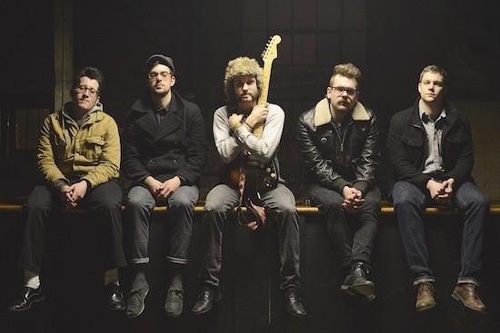 From Left to Right: Bobby Stevens, Danny Blaies, Josh Eaker, Jared Dickinson, and Dylan Doughty - PHOTO COURTESY OF LOREN MUELLER