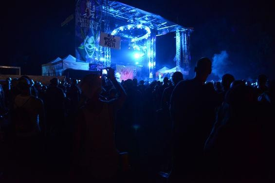 "The stage this week at the Gathering of the Juggalos. - NATE ""IGOR"" SMITH"