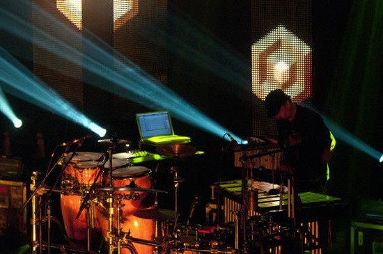GETTIN' STRAIGHT PERCUSSION UP IN HERE. PHOTO BY SCOTT LAYNE
