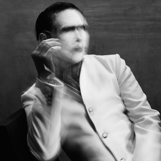 The cover of Marilyn Manson's The Pale Emperor