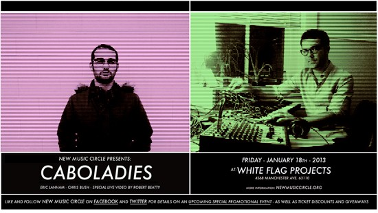 Caboladies perform at White Flag Projects on Friday, January 18 - JEREMY KANNAPELL