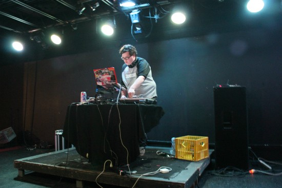 DJ Billy Brown. - LIZ MILLER