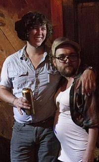 The author, Cassie Kohler, and his girlfriend Ryne Watts of the Hobosexuals
