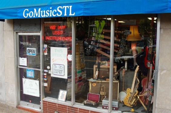 GoMusicSTL, located in the Delmar Loop, is run by musicians. - GOMUSICSTL.COM