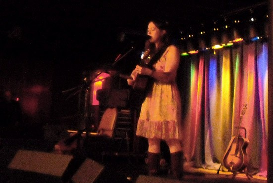 Sarah Jarosz, solo at the Duck Room - PHOTO BY ROY KASTEN