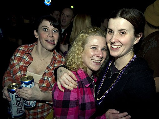Audience members last night at Off Broadway for the Langhorne Slim concert. See the full slideshow from last night's show here. - PHOTO: JON GITCHOFF