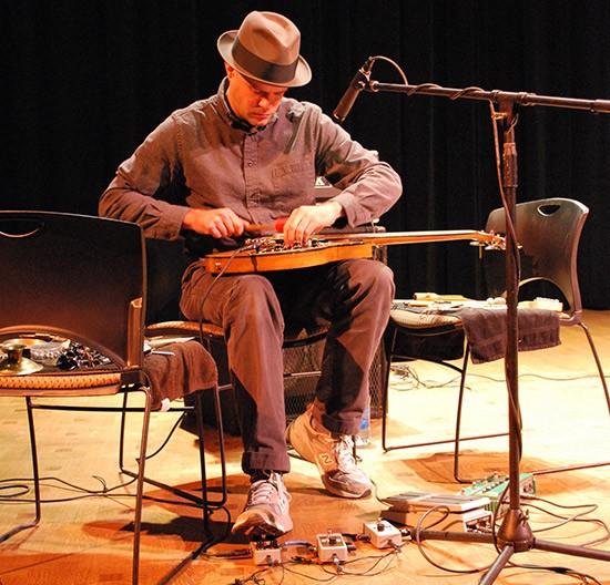 Experimental bassist Darin Gray performs July 14 at the Kerr Foundation. - ROBERT IWANIK