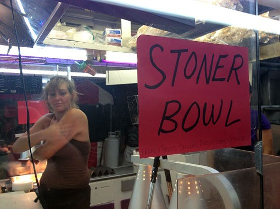 "Wondering what's in a ""stoner bowl?"" Keep reading. - DREW AILES"