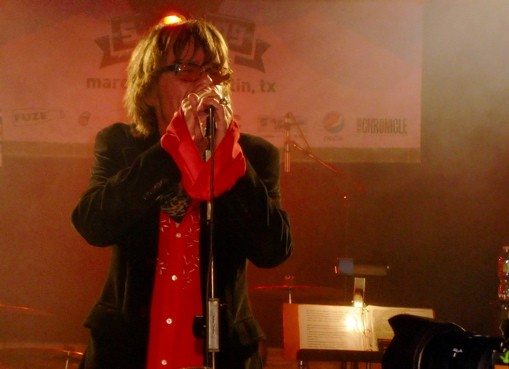 David Johansen of the New York Dolls at the Smoking Lounge. - ROY KASTEN