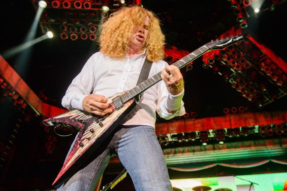 Megadeth on Sunday night in St. Louis. - TODD OWYOUNG