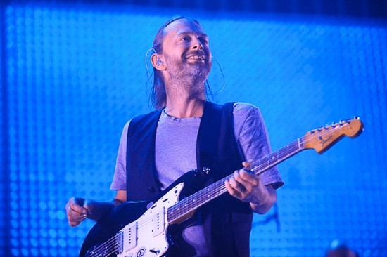 Thom Yorke's disposition for most of the night. - TODD OWYOUNG
