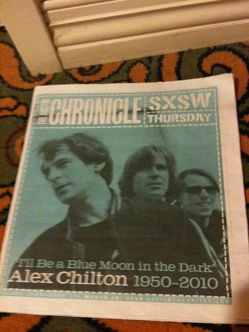 The cover of the Austin Chronicle's SXSW supplement today - JASON HARPER