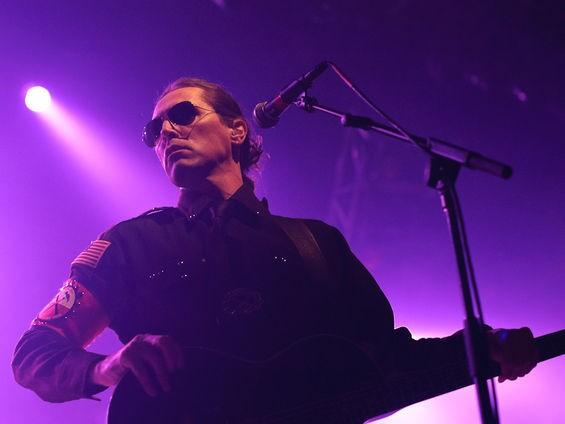 El Monstero guitarist and vocalist Mark Thomas Quinn back in '09. See more El Monstero St. Louis photos. - JASON STOFF